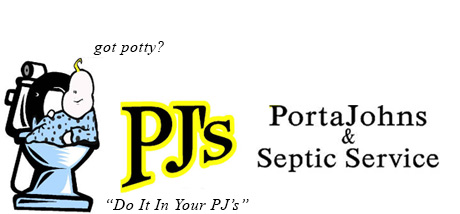 PJ's PortaJohns and Septic Service, Logo